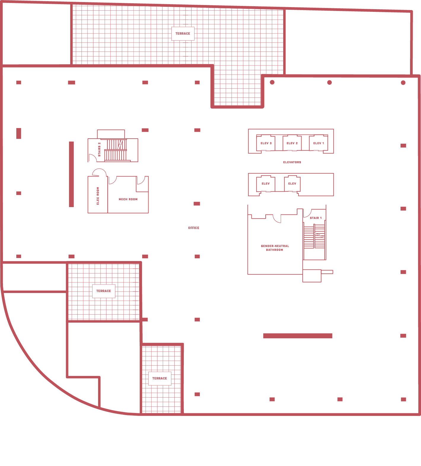 5MLK 5th floor - floor plan