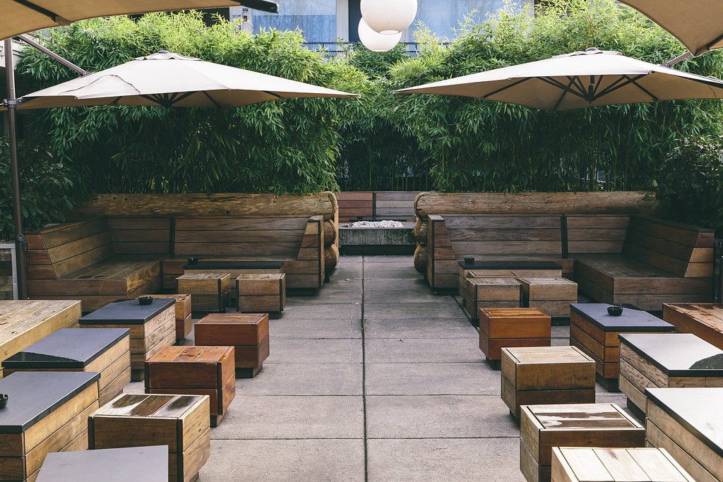 Portland outdoor seating