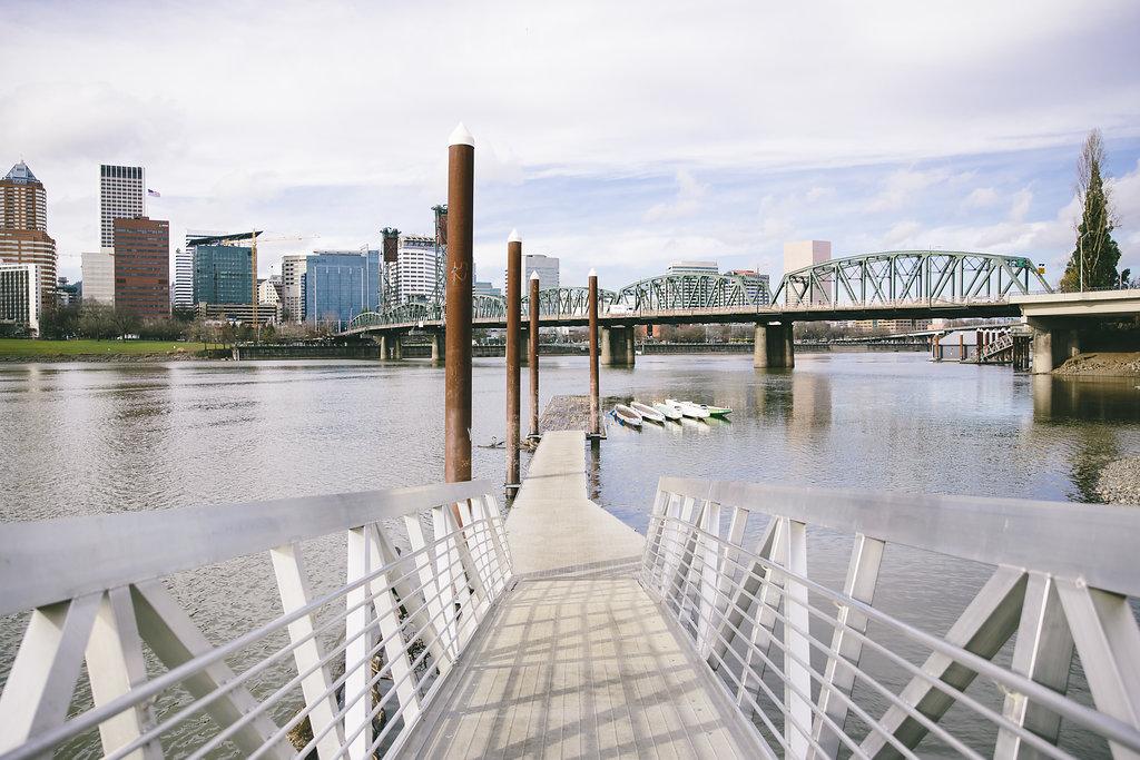 Boardwalk on water