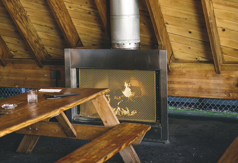 Gallery Page with Image of Fire Place