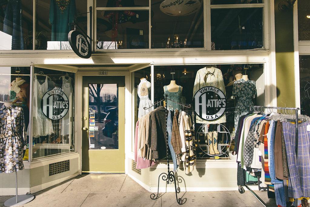 5 MLK Apartments Neighborhood, Hattie's Vinatge Store Front