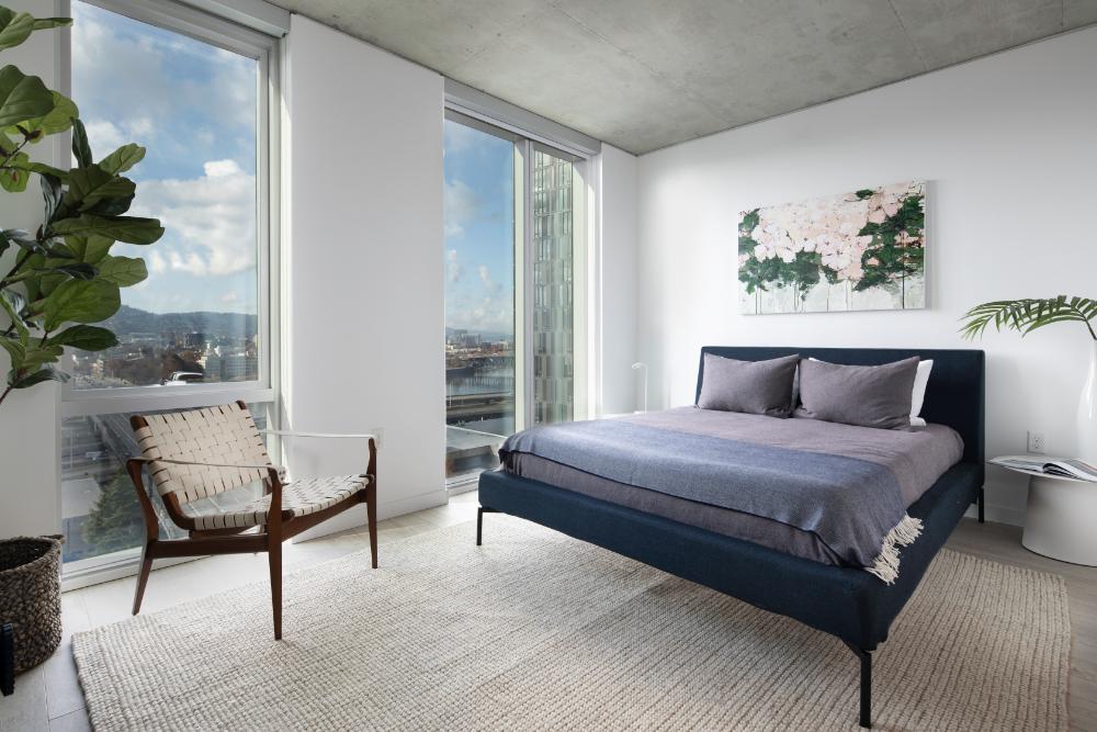 5 MLK Apartments Bedroom, Portland, Oregon