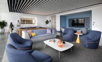 6th floor resident lounge