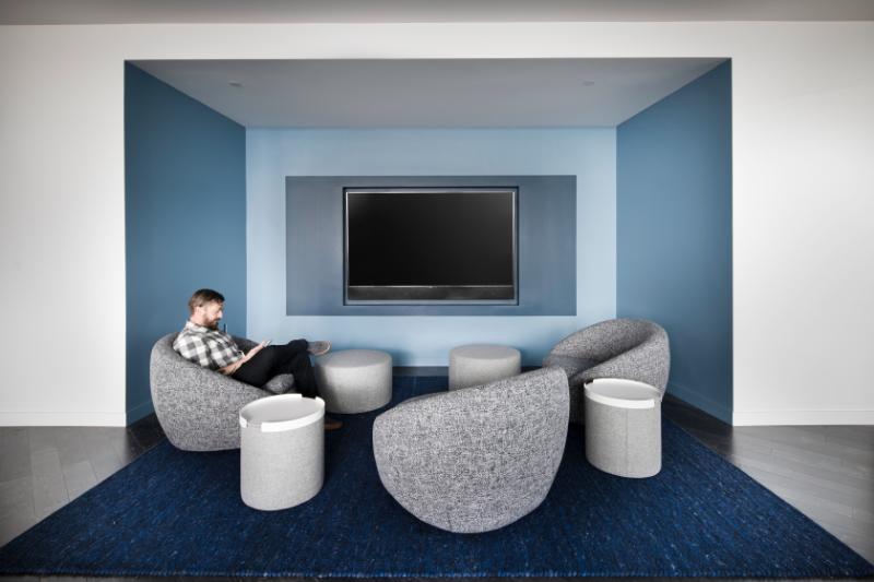 5 MLK Apartments 6th Floor Resident Lounge, Portland, Oregon