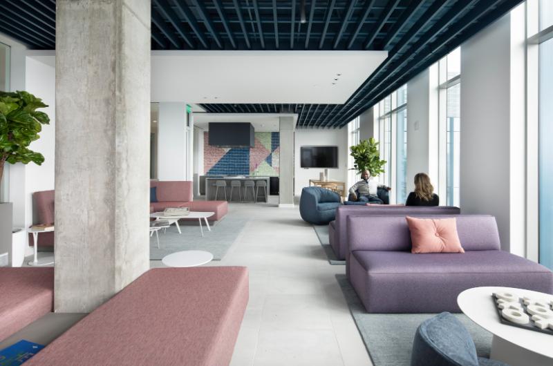 5 MLK Apartments 17th Floor Resident Lounge, Portland, Oregon