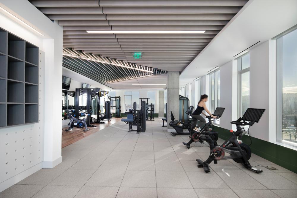 5 MLK Apartments Fitness Center, Portland, Oregon
