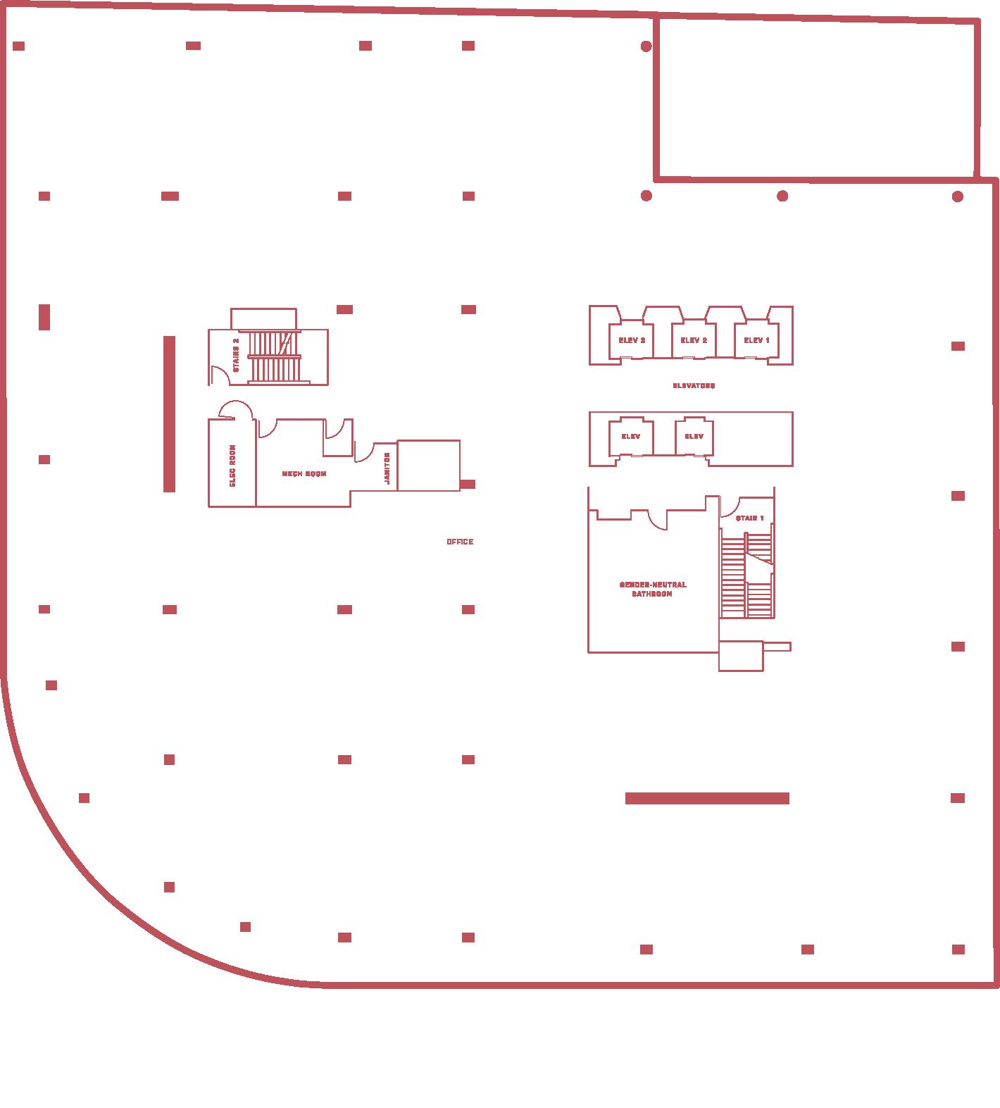 5MLK 2nd floor - floor plan