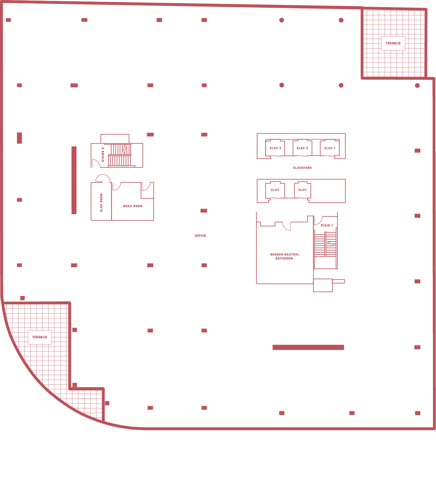 5MLK 3rd floor - floor plan