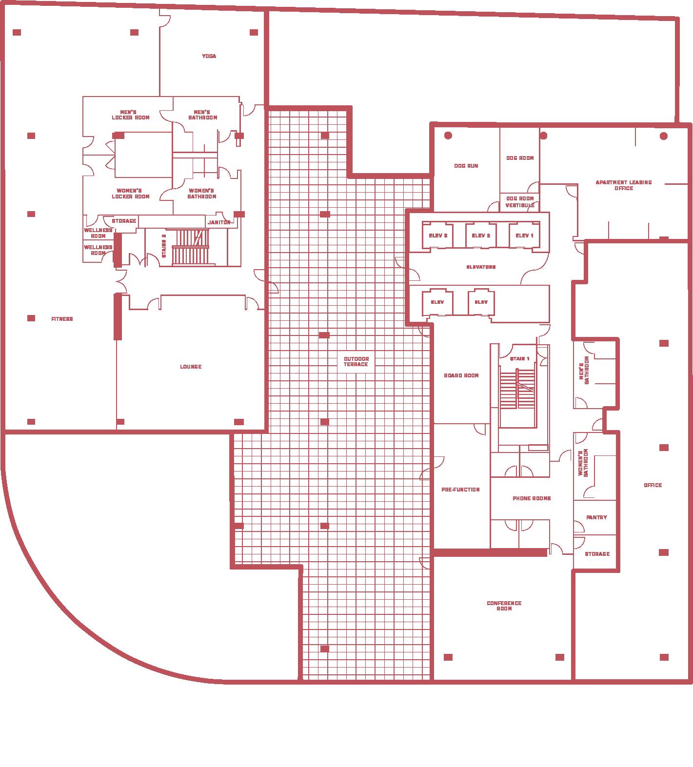 5MLK 6th floor shared - floor plan